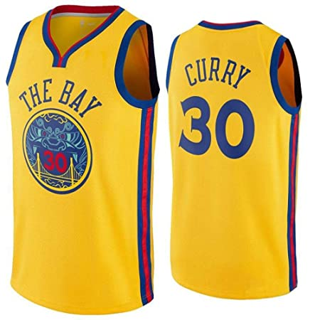 NBA Camisetas De Baloncesto para Hombre - NBA Warriors ...