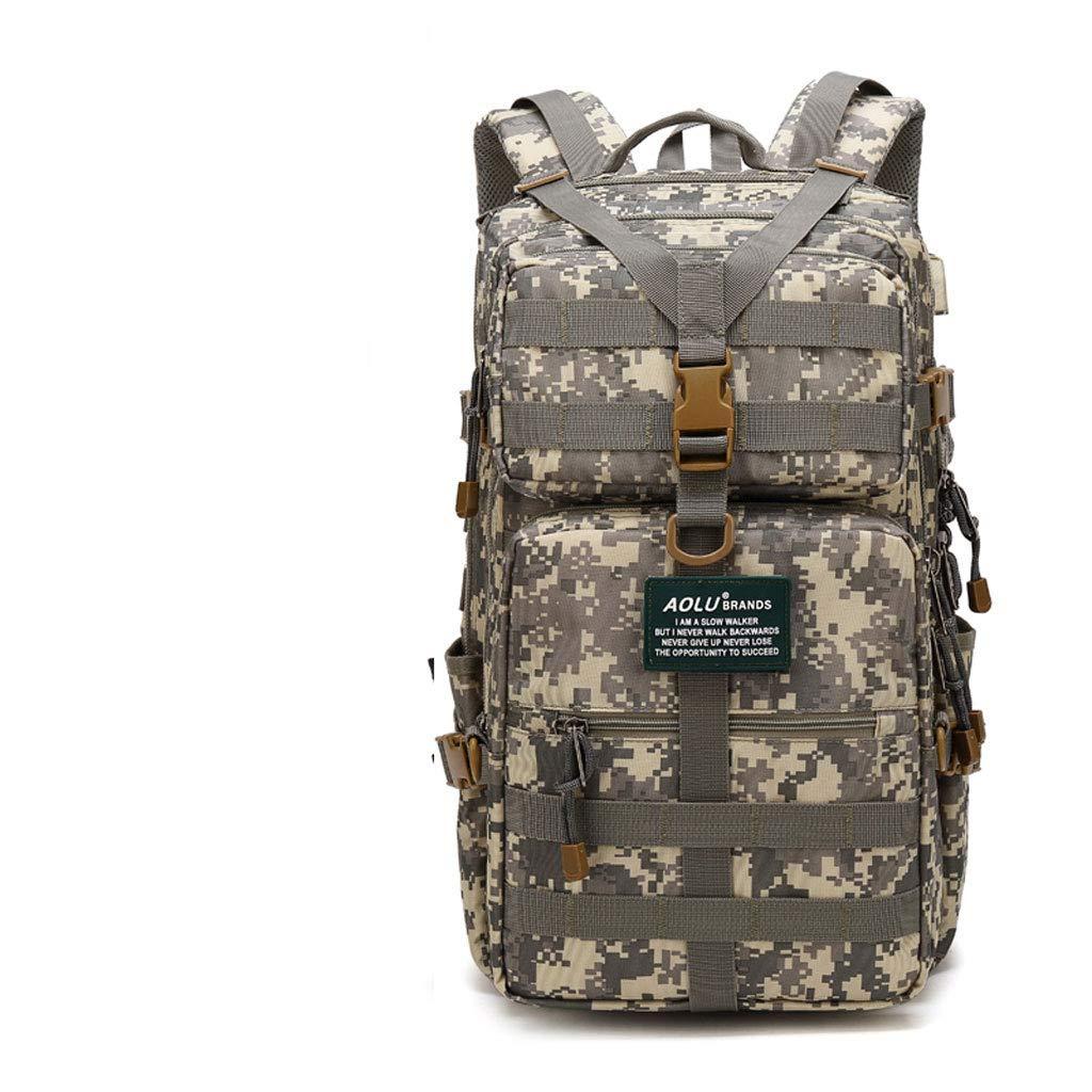 Camouflage Multifonctionnel Sac à Dos Détachable Tactique Grande Capacité Sac à Dos en Plein Air Voyage Alpinisme Camouflage Sac à Dos