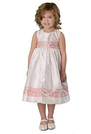 Amazon.com: Strasburg Children Girls&39 Lucy Silk Dress Southern ...