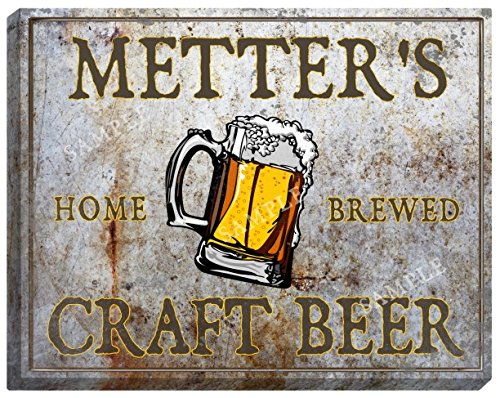 metters-craft-beer-stretched-canvas-sign-16-x-20