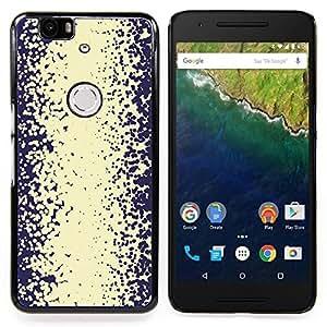 Stuss Case / Funda Carcasa protectora - Patrón Vignette Rústico Beige - Huawei Google Nexus 6P