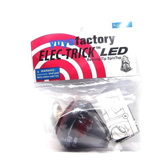 ... de Bolas y Cuerda - Negro / Rojo (Iluminar LED, De Principiante a Profesional, toupie, trompo, spintop, peonza): Amazon.es: Juguetes y juegos