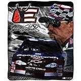 "Dale Earnhardt NASCAR Micro Raschel Blanket (50""x60"")"