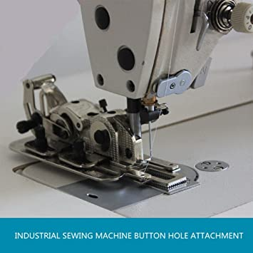 yeqin Industrial máquina de coser botón agujero fijación Brother, Juki + Universal: Amazon.es: Hogar