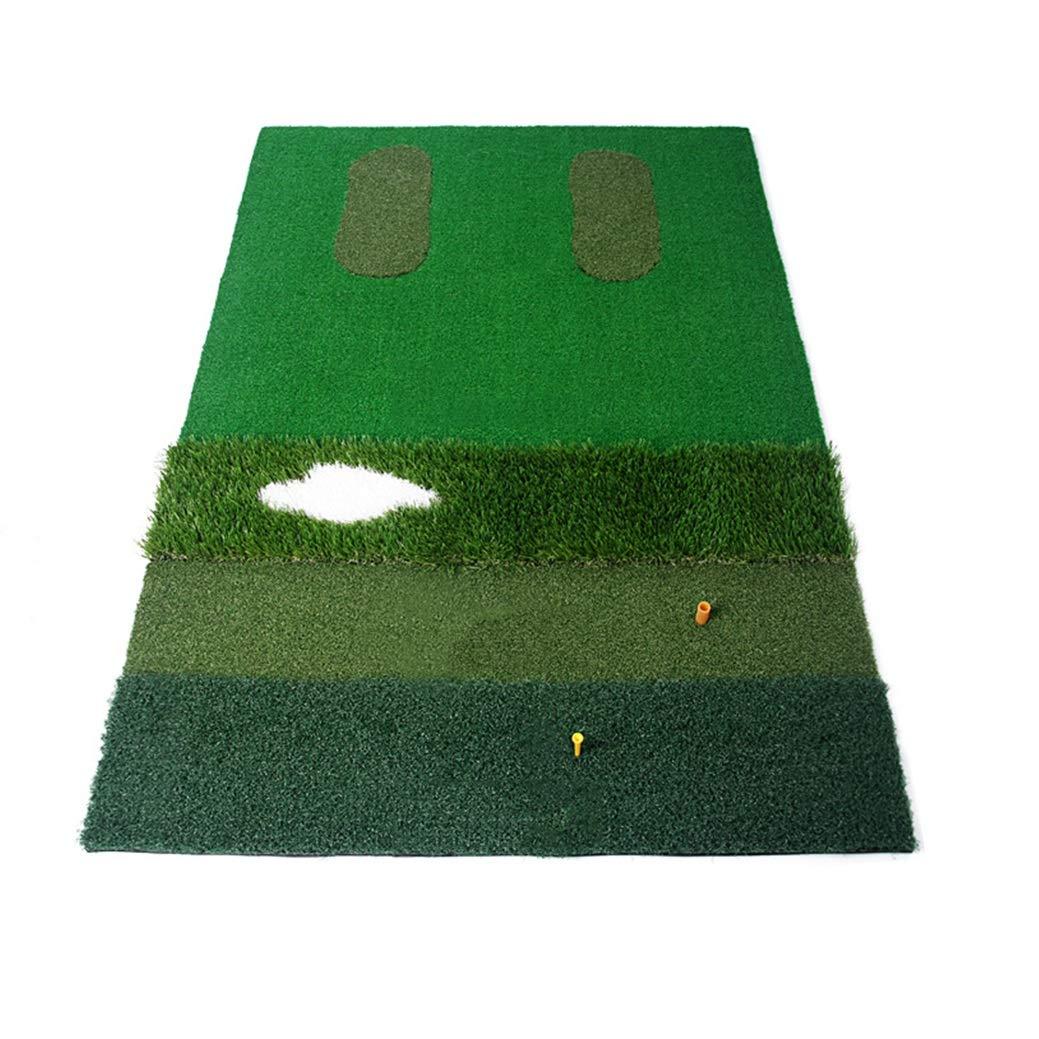 パッティングマット ゴルフマットゴルフ練習用バッティングマットオフィス用ゴルフグリーン室内人工芝ゴルフ練習用芝生マット人工芝マット (Color : Green, Size : 100x150cm) 100x150cm Green B07R67NJ37