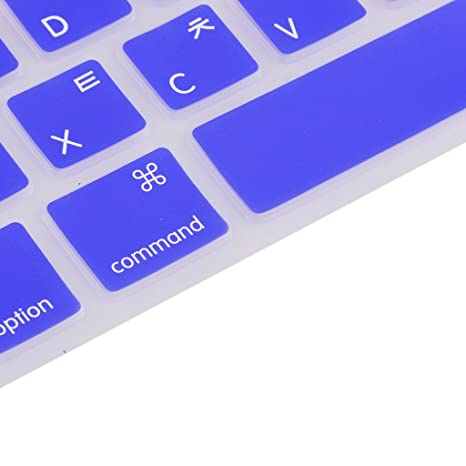 Sharplace Protector de Teclado Funda Silicona Accesorio Ordenador Portátil Cámara Fotografía para MacBook Pro
