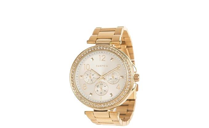 Parfois - Reloj New York - Mujeres - Tallas M - Dorado
