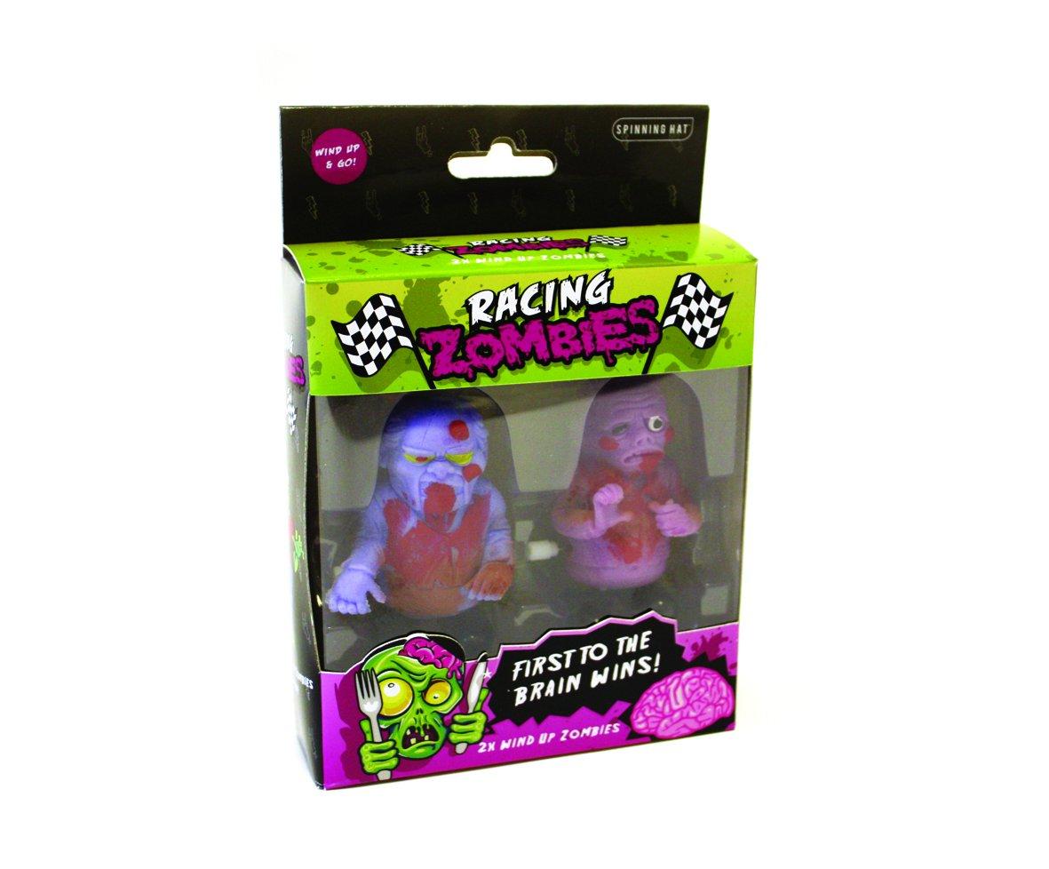 Gift Republic Racing Zombies Figurine, Multi-Colour, 2-Piece GR450024