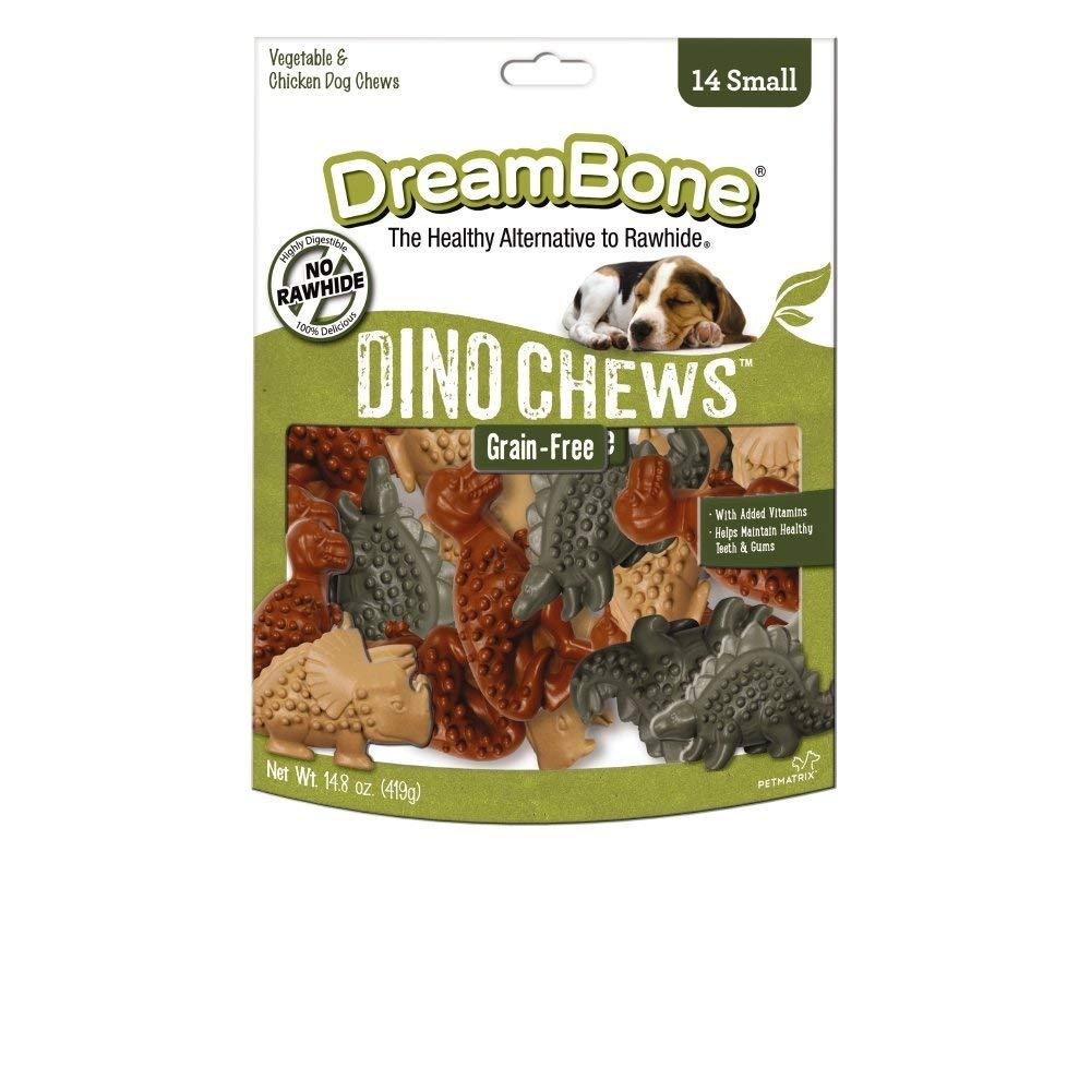 DreamBone DBDC Large Dinochews Pet Chew Treats, Rawhide Free