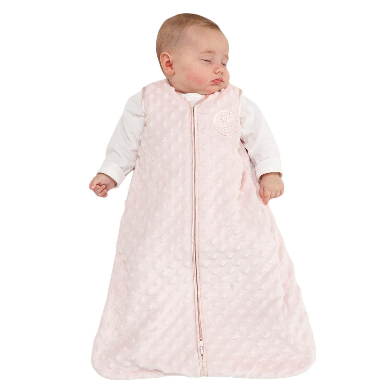 Micro-fleece Medium Medallion Halo Sleepsack Pink