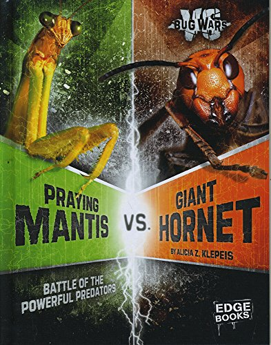 Praying Mantis vs. Giant Hornet: Battle of the Powerful Predators (Bug Wars)