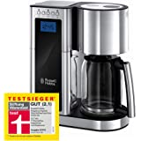 Russell Hobbs 23370-56 Elegance Kahve Makinesi, 1,25lt/10 Fincan, Paslanmaz Çelik, Gümüş