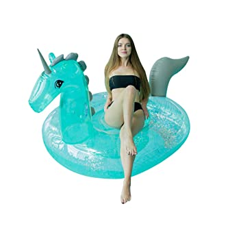 Gonflables Licorne Géant Wyjhnl Gonflable Bouee Flottante Matelas 80nvNymwO