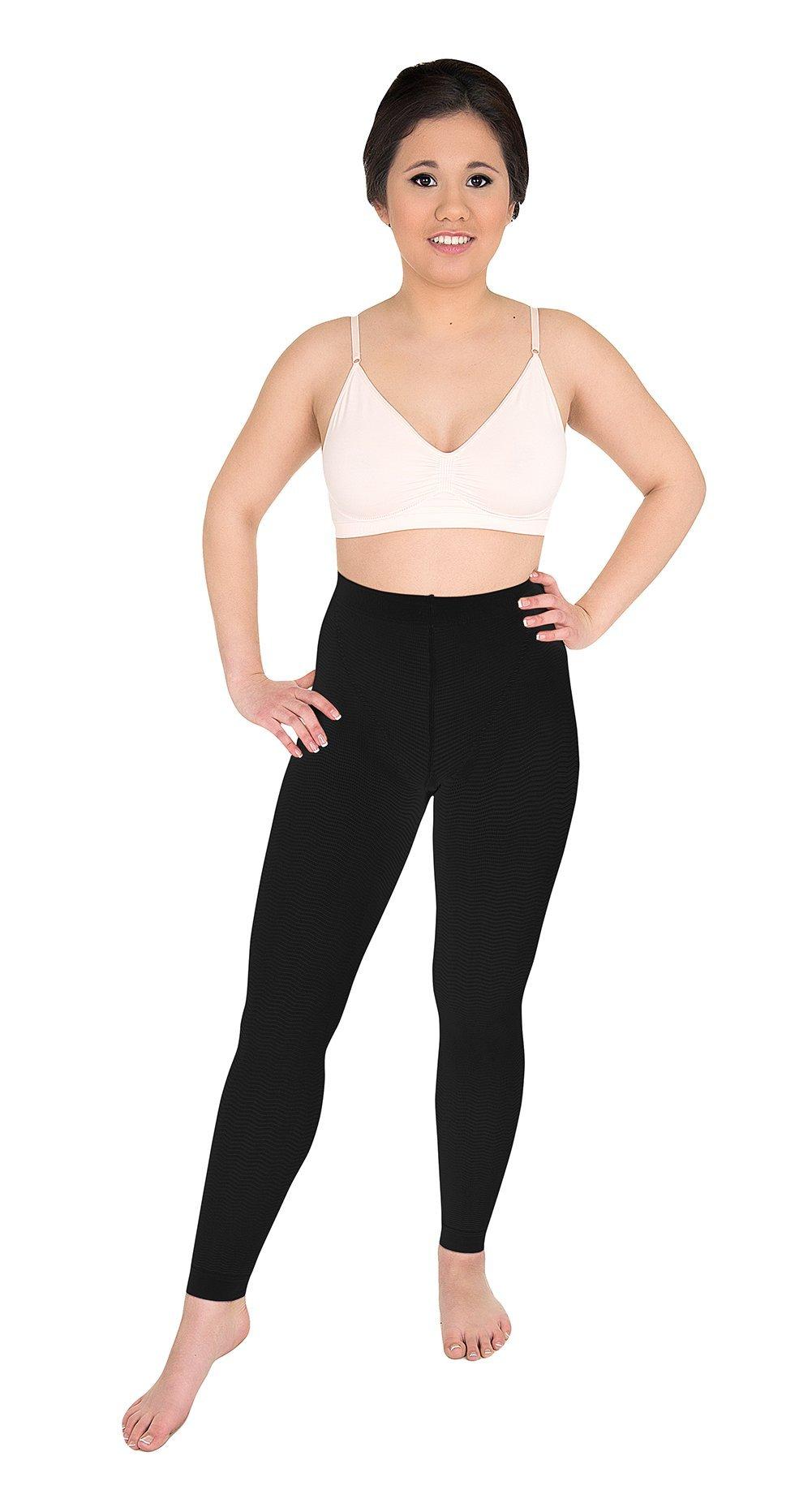 Solidea Women's Active Massage Long Large Black