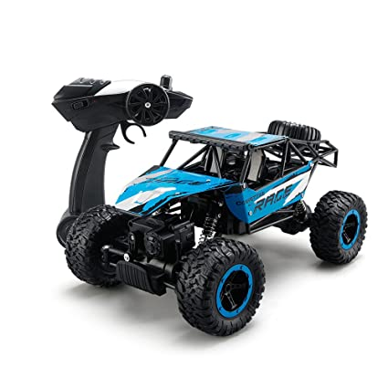 RC Car,ToyPark 1:14 Scale 2 4Ghz 4WD Remote Control Truck RC Rock Off-Road  Vehicle Electric Car