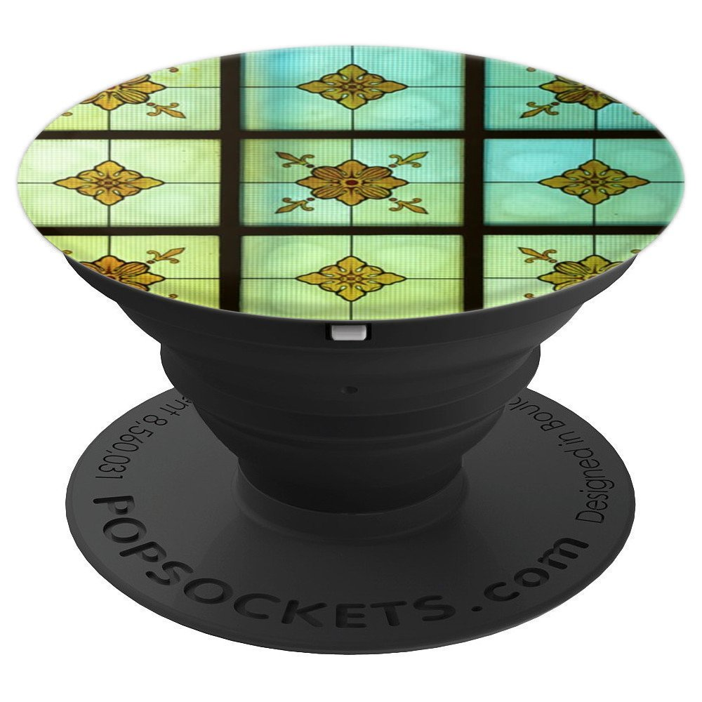 Stained Glass From Germany For Back To School - PopSockets Grip and Stand for Phones and Tablets