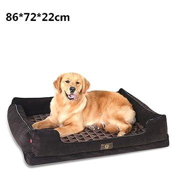 shell Lujoso Cama para Mascotas de Cama de Perro de Color Marrón, Uso de la