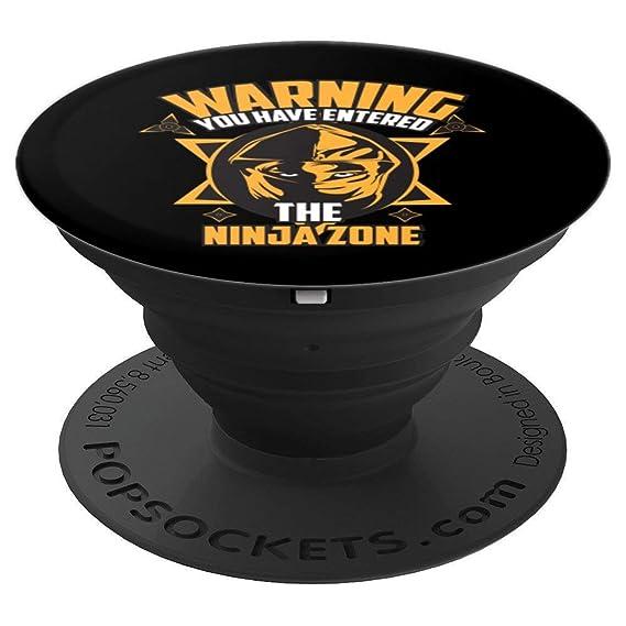 Amazon.com: Cute Warning You Have Entered The Ninja Zone Art ...