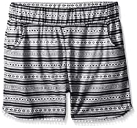 Dream Star Girls' Aztec Print/Solid Knit...