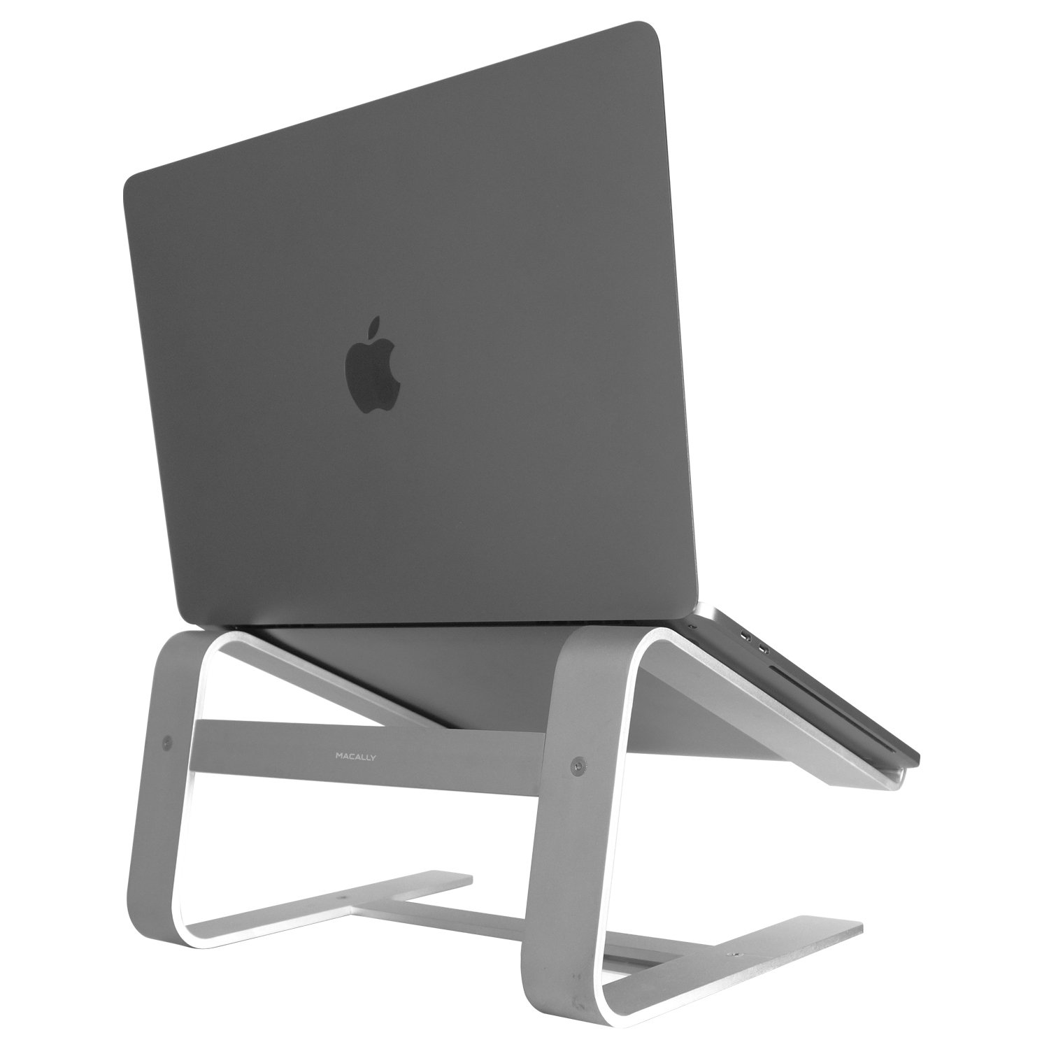 "Macally ASTAND aluminum laptop stand for Apple Macbook, Macbook Air, Macbook Pro and any laptop between 10"" to 17"