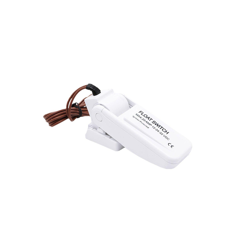 MuZuZi Automatischer elektrischer Pumpen-Schwimmer-Schalter-Niveau-Steuerpult-Wasserstand-Lehre