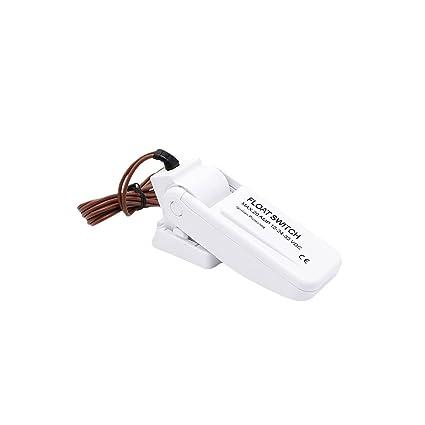 MuZuZi Bomba eléctrica automática Interruptor de flotador Controlador de nivel Medidor de nivel de agua