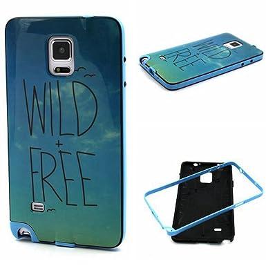 Galaxy Note 4 Case, MIMICat? 2 en 1 Hybrid Bumper + carcasa ...
