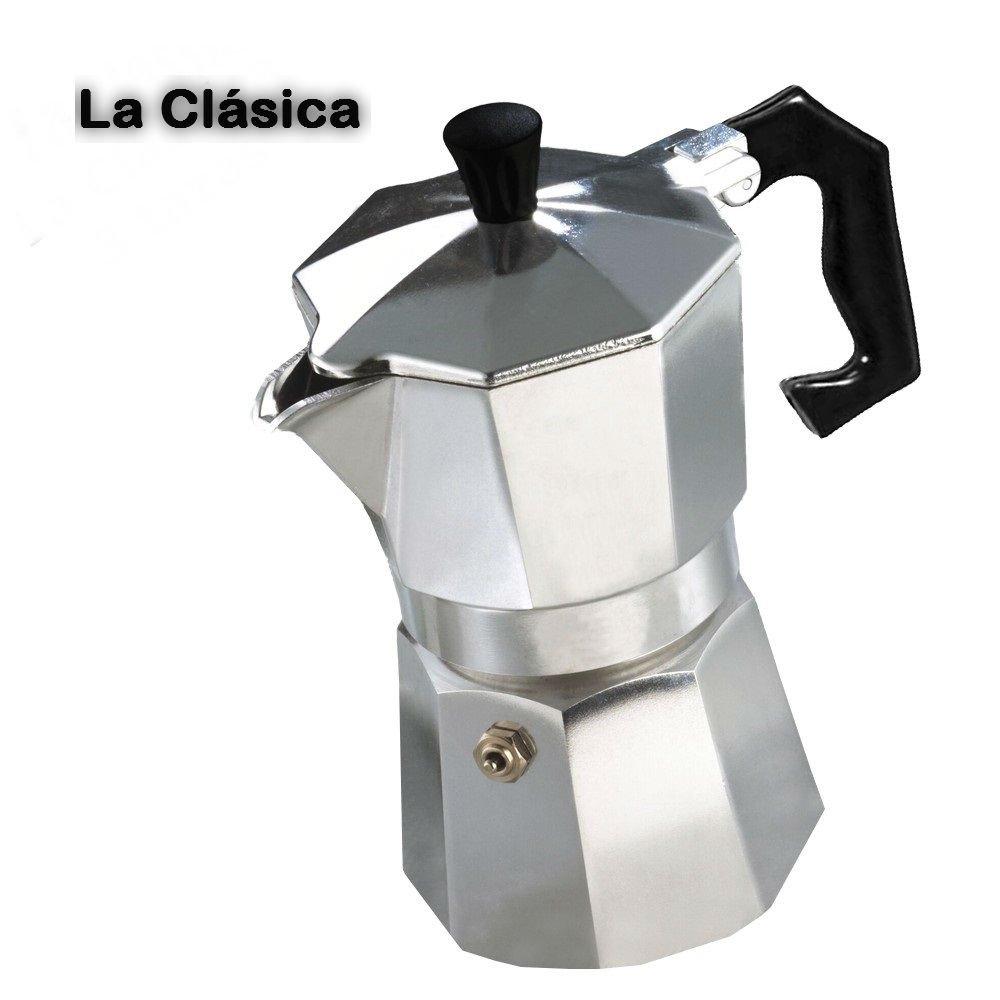 Cafetera italiana clásica metalizada/3 tazas café - Café ...
