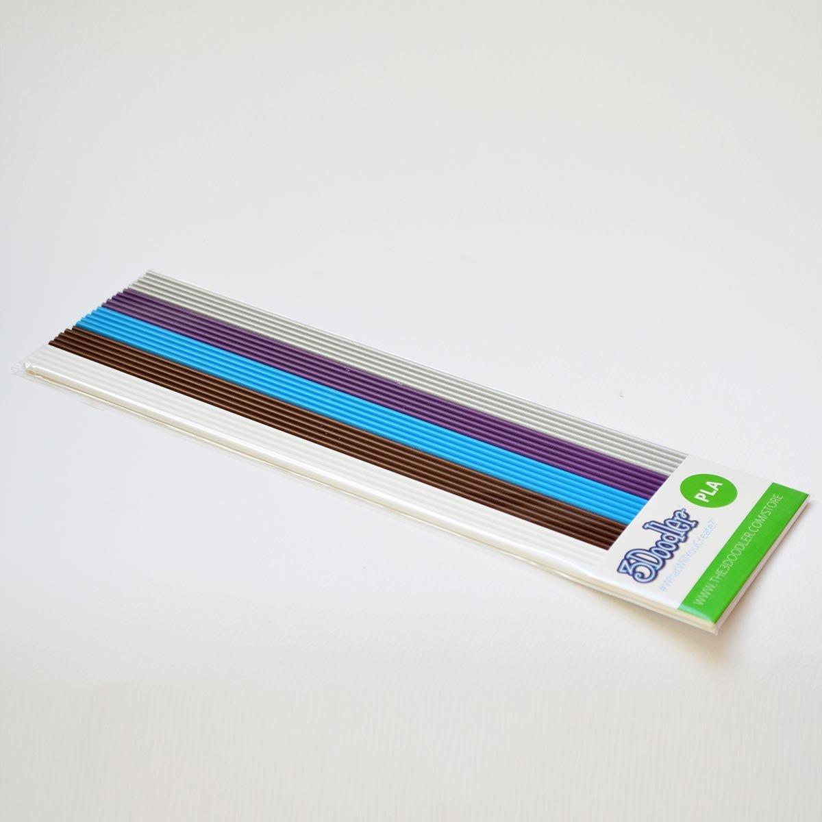 Mezcla Meta Pack de 25 hebras de plástico PLA para 3Doodler y ...