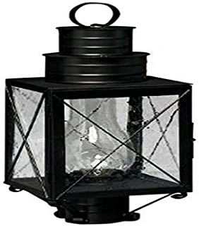 product image for Brass Traditions 220 SXAB Medium Post Lantern 200 Series, Antique Brass Finish 200 Series Post Lantern