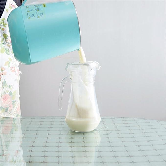 Tuerca de leche bolsa - Estameña y alimentos Colador - Leche de almendras, tuerca, suave Milks & ZUMOS, Cottage queso, yogur griego eléctrica - resistente ...