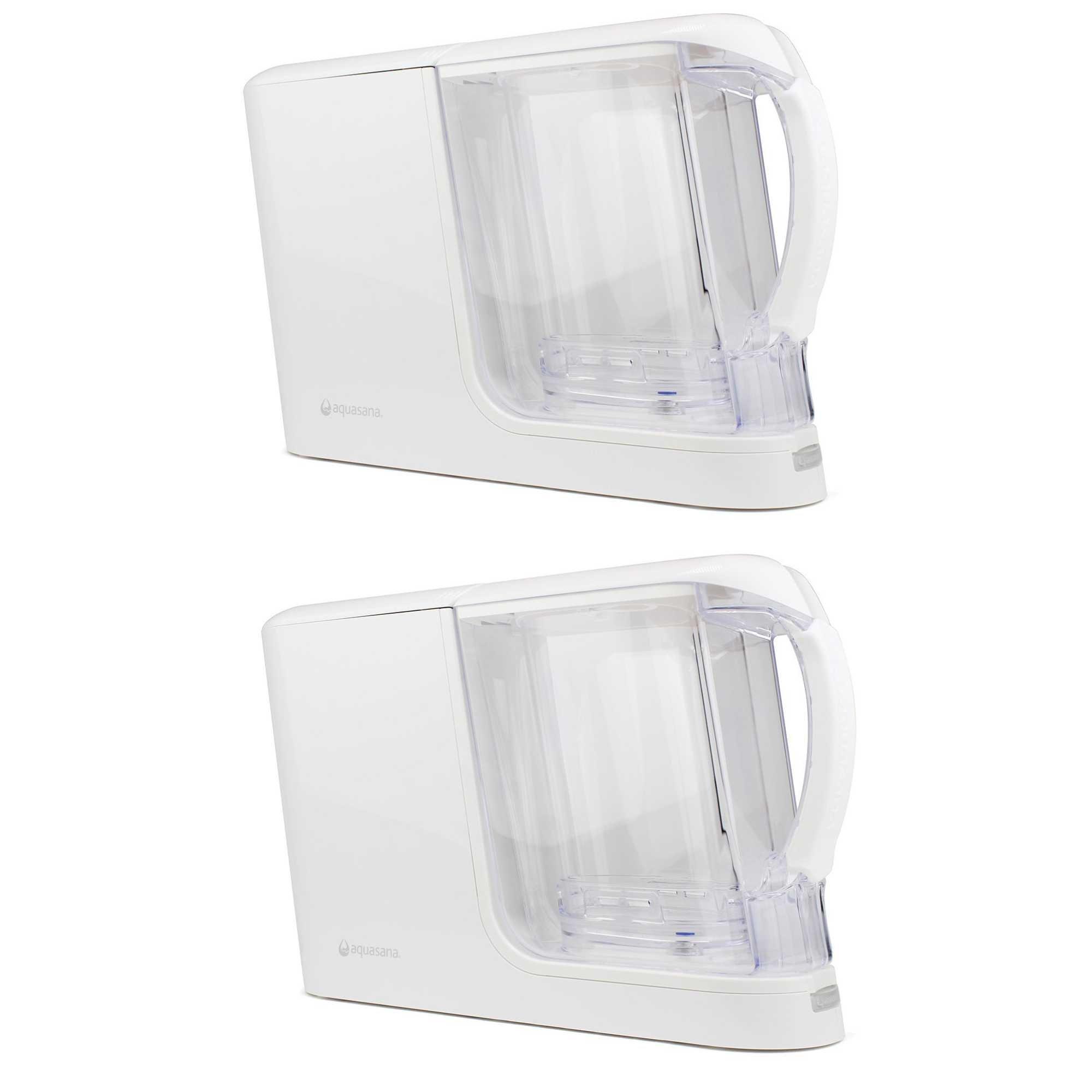 Aquasana AQ-CWM-P-W Clean Water Machine all white 2 Pack