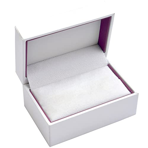 EYS JEWELRY® estuche de joyería para anillos de boda 75 x 48 ...