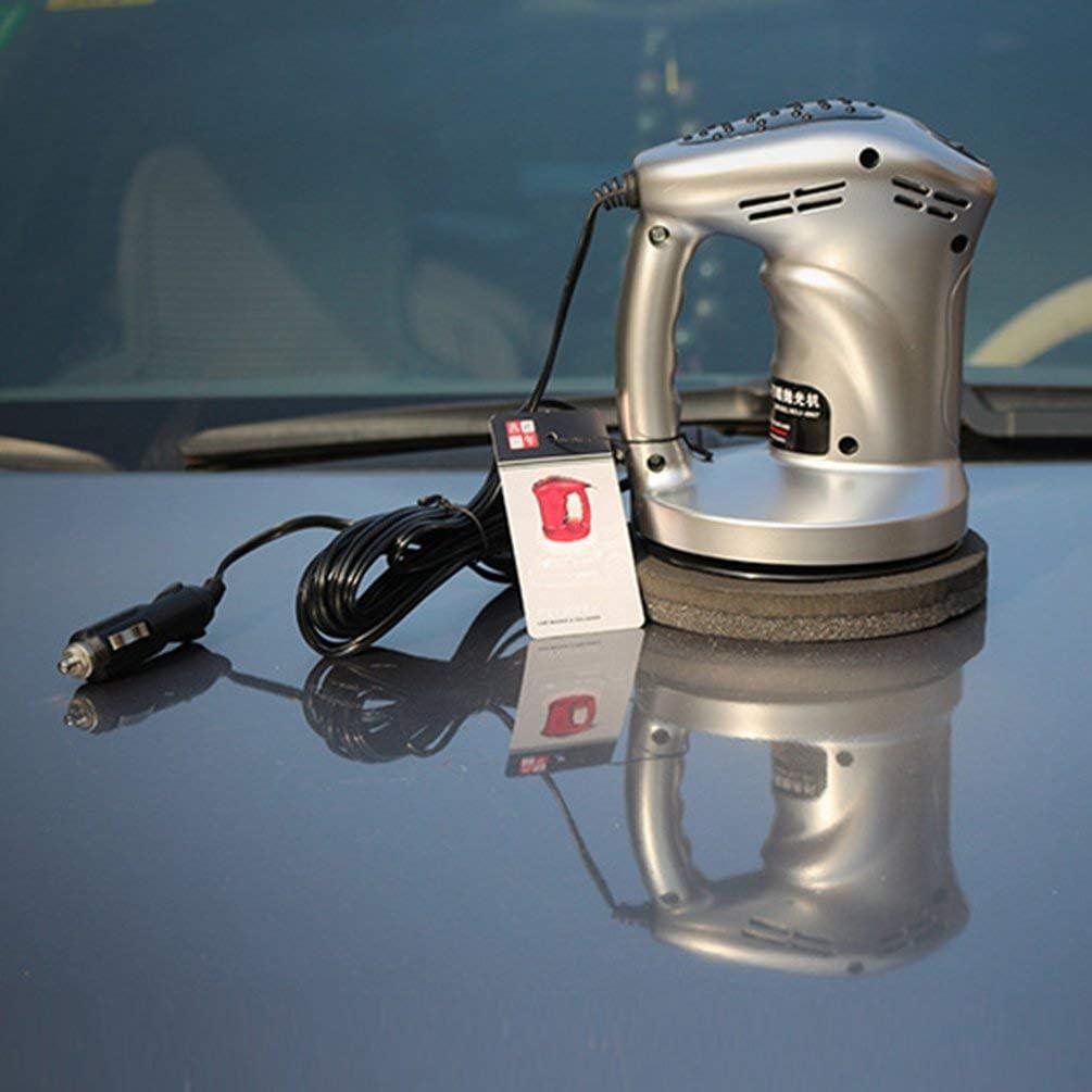Electric Sander Portable Car Polisher 12V Polishing Machine Waxed Buffer Waxer Black