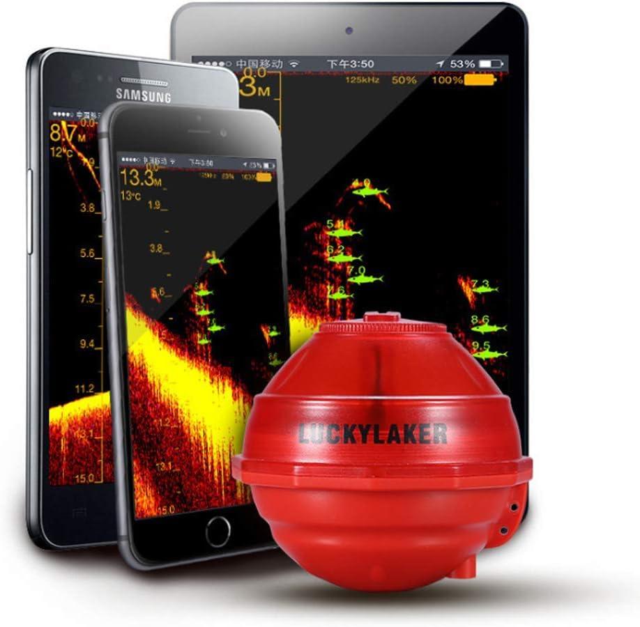 WYYHAA Buscador de Peces, WiFi portátil Bajo el Agua Conexión Teléfono Inteligente, Detector de Peces inalámbrico con cámara de Pesca, Tableta de teléfono Inteligente para Android/iOS Se: Amazon.es: Hogar