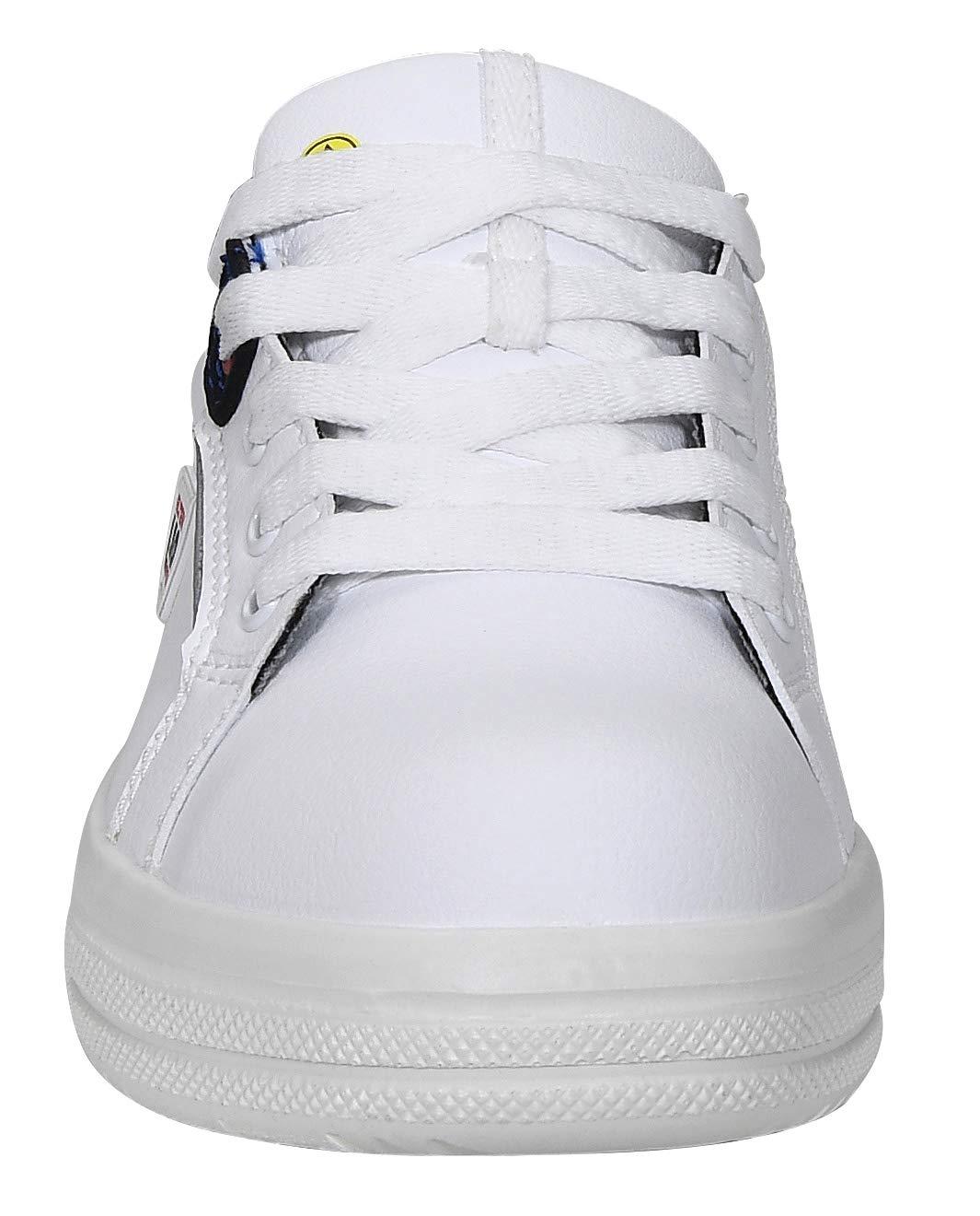 leicht Sneaker sportlich Stahlkappe Damen wei/ß Gr/ö/ße 41 ELTEN Sicherheitsschuhe GHOST Lady Low ESD S3
