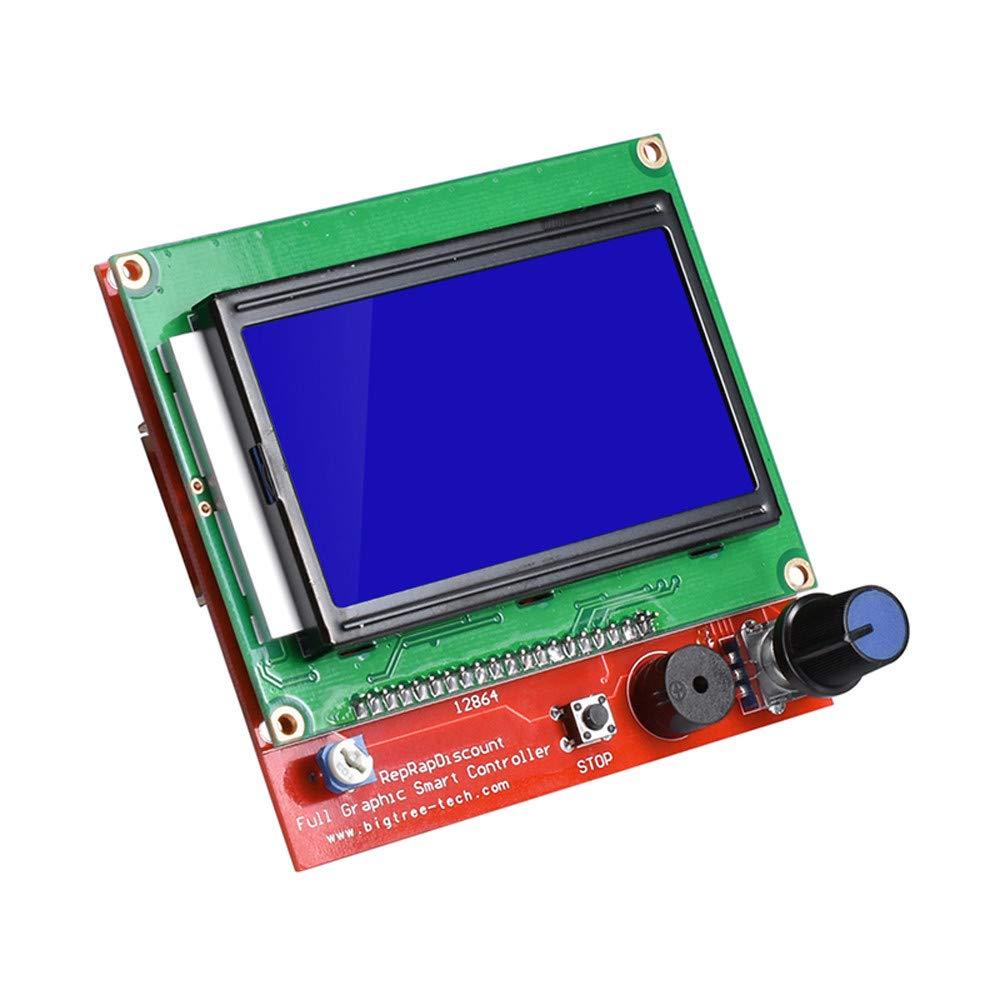 Amazon.com: Haluoo 12864 LCD Graphic Smart Display ...