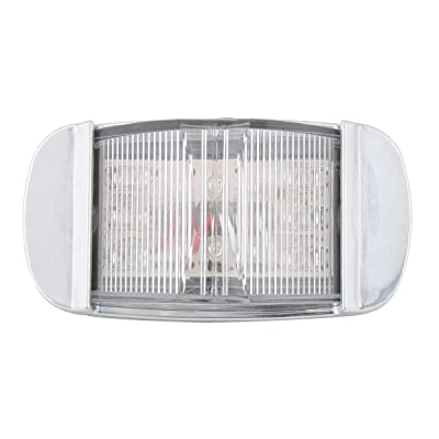 GG Grand General 76229 Light (Rectangle White/Clear Wide Angle 14-LED Interior with Bezel): Automotive