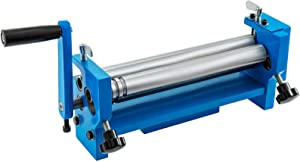 Mophorn 12.6 in. Slip Roll Roller Metal Plate Bending Round Machine,Slip Roll Machine Up to 18 Gauge Steel,Sheet Metal Roller,Slip Rolling Bending Machine with Two Removable Rollers