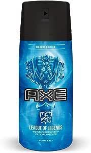 AXE LEAGUE OF LEGENDS LOL Desodorante Body Spray en aerosol para caballero 97g/150ml