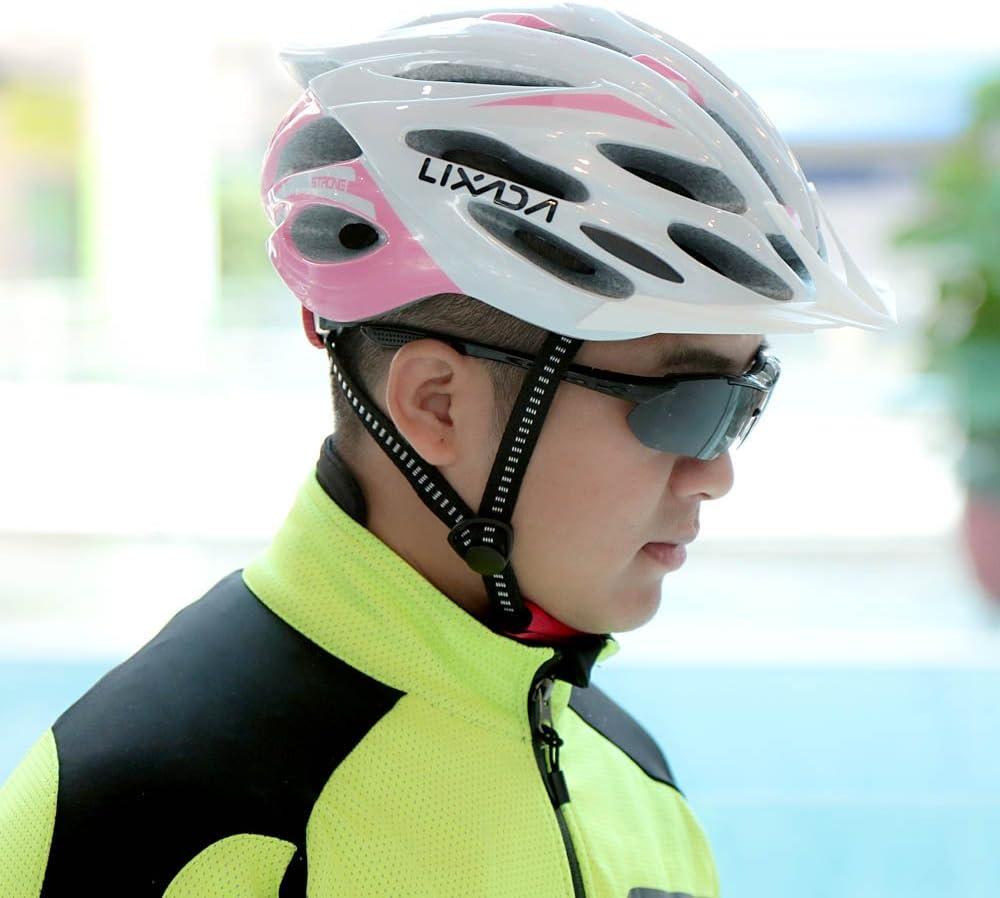 Lixada Bike Helmet Mountain Bicycle Helmet 24 Vents Ultralight Integrally Molded EPS Sports Cycling Helmet with Lining Pad Unisex Adjustable Helmet