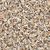 d-c-fix 346-0181 Decorative Self-Adhesive Film, Brown Granite, 17.74' x 78.7' Roll