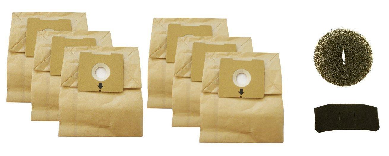 Bissell Dust Bag (2) 3pks 4122 Series #2138425 (6 total bags) 2138425 4122