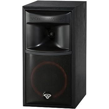 Cerwin Vega XLS 6 2 Way Home Audio Bookshelf Speaker Each Black