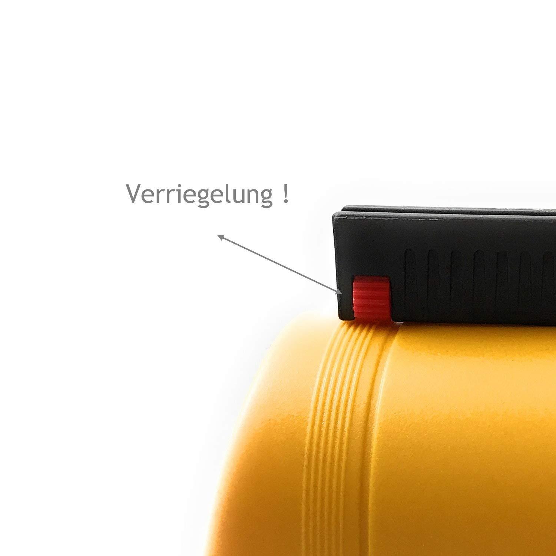 Gr/ün 4m Sharplace Edelstahl Airport Sicherkeit Personenleitsystem Absperrung Band