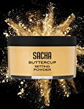 #4: BUTTERCUP POWDER. No ashy flashback in selfies & photos. Flash-friendly loose face powder for Medium to Deep skin tones 1.25 oz
