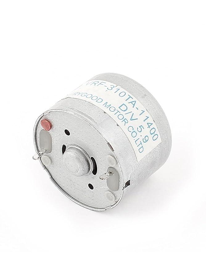 Motor de alto par a 1500 rpm 3-6V cilindro eléctrico micro vibraciones DC - - Amazon.com