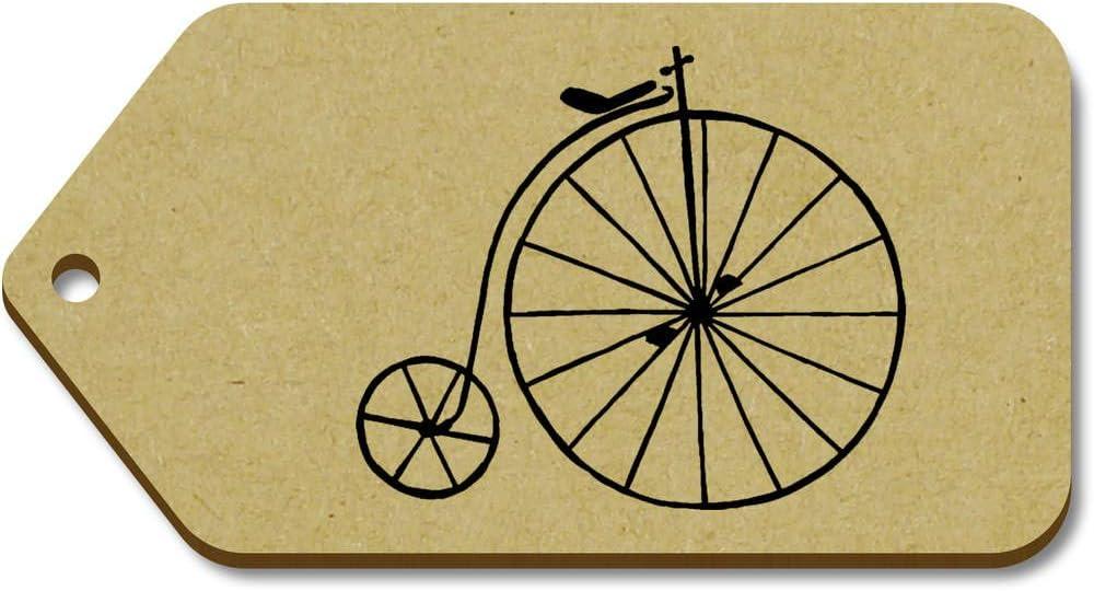 Azeeda 10 x Grande Vieja Bicicleta Regalo/Equipaje Etiquetas (TG00084690): Amazon.es: Juguetes y juegos