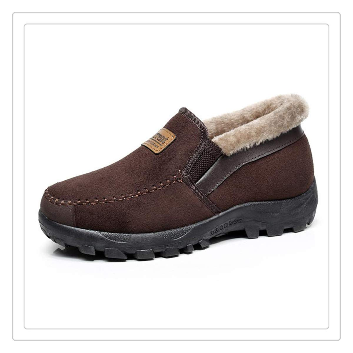 Snow Boots Plush Super Warm Suede Leather Boots Work Shoes Outdoor Lover Shoes