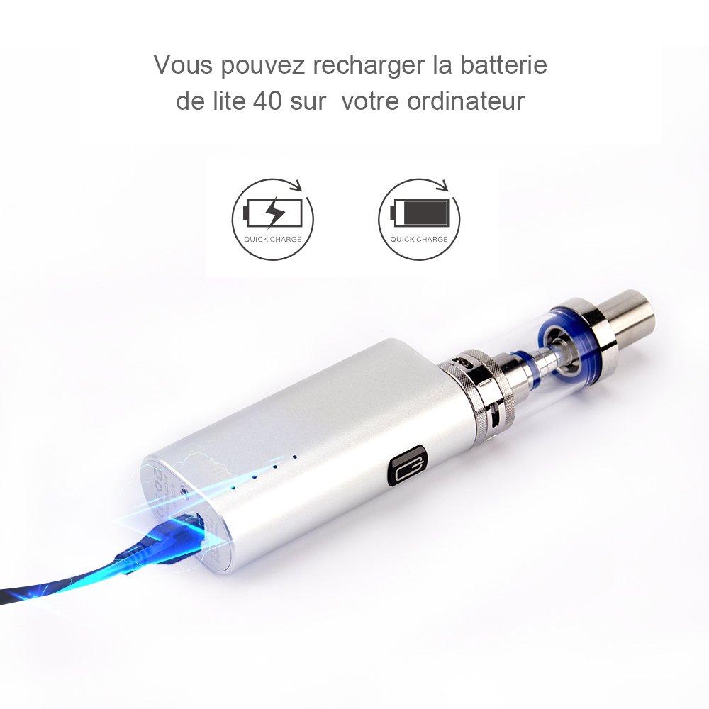 JOMO TECH Lite 40W Caja de e-Cigarrillos 0.5Ohm: Amazon.es: Salud y cuidado personal